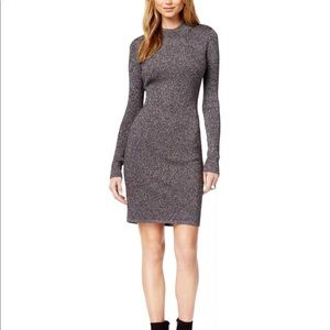 Bar III Metallic Sweater Dress